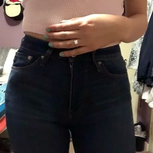 Body shaping low rise jeans! Never worn before!!